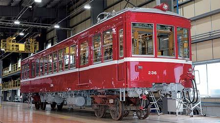 京急電鉄デハ236 車体修繕工事が完了