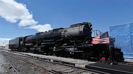 復活なった「Big Boy」4014号機~世界一大きい蒸気機関車の動態保存を計画~
