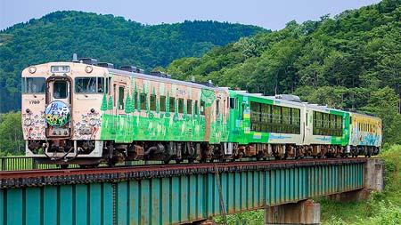 びゅうコースター風っこ 津軽海峡を越え... 日本最北の鉄路を行く