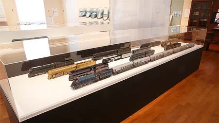 旧新橋停車場 鉄道歴史展示室 第51回企画展流線形の鉄道1930年代を牽引した機関車たち