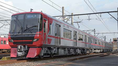 新車速報名古屋鉄道9500系/京成電鉄3100形