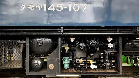 JR東日本 高崎車両センター所属クモヤ145-107の交番検査を拝見