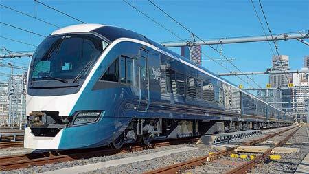 新車速報JR東日本 E261系特急形直流電車/JR東海 HC85系 試験走行車