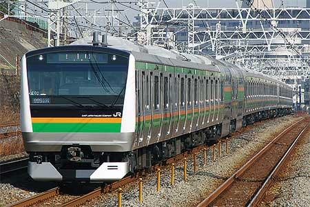 E233系3000番台,東京へ日中初入線