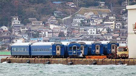 24系,タイ国鉄への譲渡準備始まる