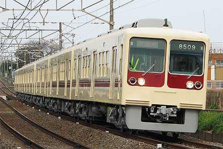 新京成8000形にVVVF化改造車登場