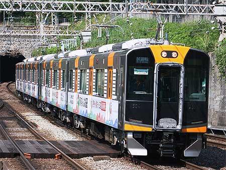阪神1000系,近鉄奈良線内で試運転