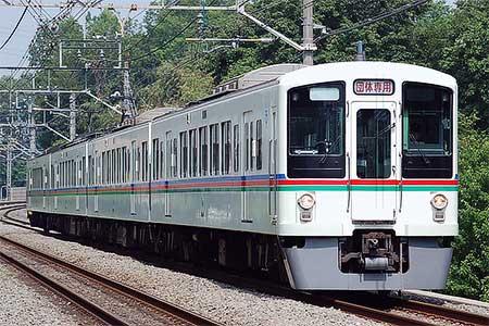 西武 4000系を使用した団体臨時列車を運転