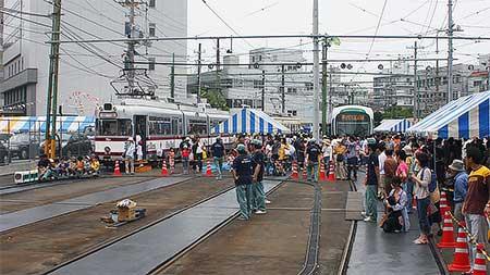 広島電鉄「第13回路面電車まつり」開催
