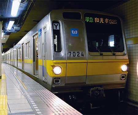 東京メトロ有楽町線に「準急」が登場|鉄道ニュース|2008年6月16日 ...