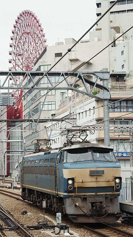 JR貨物EF66,大阪駅う回訓練