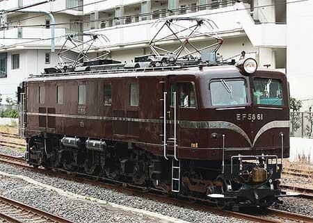 EF58 61,大崎へ