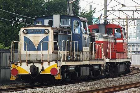 DD5515,逗子へ甲種輸送