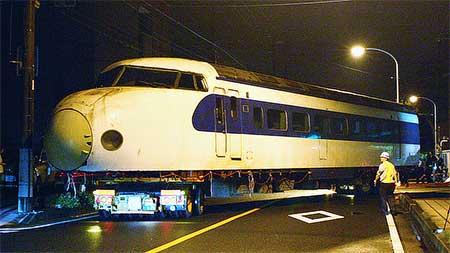 0系新幹線電車,大宮に到着