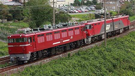 EH500-48,福岡貨物ターミナルへ送り込み