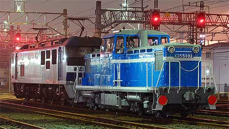 京葉臨海鉄道 KD55 103が全検出場