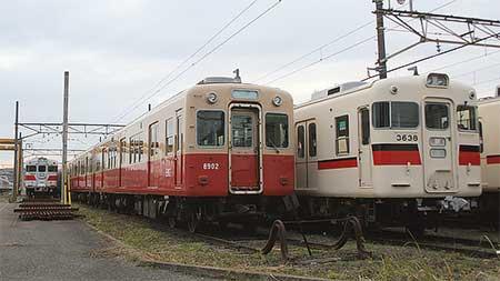 阪神8901形が東二見へ