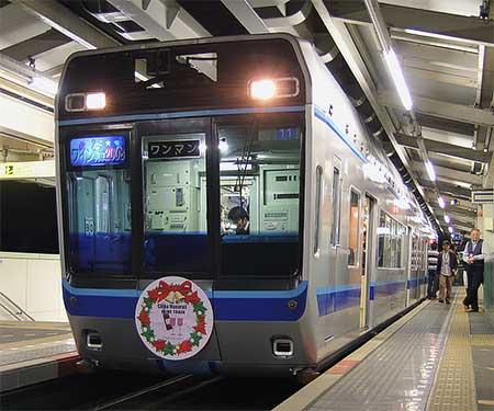 千葉都市モノレールで「ワイン列車2008」運転