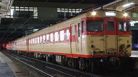 新津運輸区のキハ58+キハ28が運用復帰