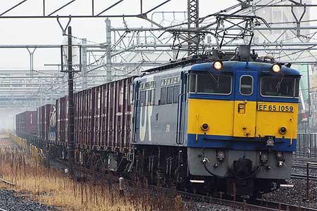 EF65 1059,4094列車をけん引