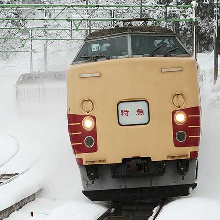 """特急""""ほくほく十日町雪祭り""""運転"""
