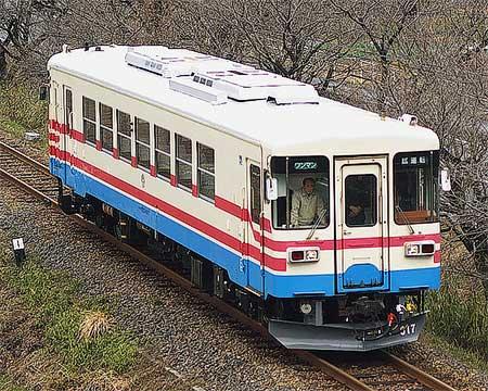 もと三木鉄道ミキ300-105→樽見鉄道ハイモ295-617が試運転を実施