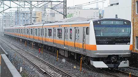 E233系青669編成,武蔵野線で試...