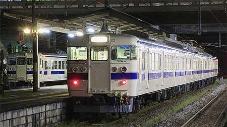 もと勝田車両センターK620編成が営業運転を開始