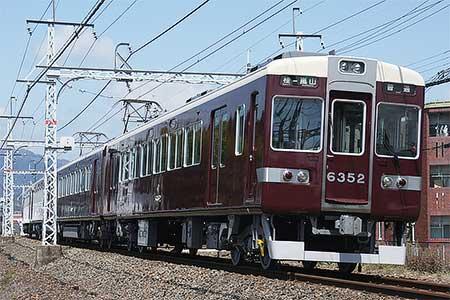 阪急6300系リニューアル車,嵐山線で営業運転開始