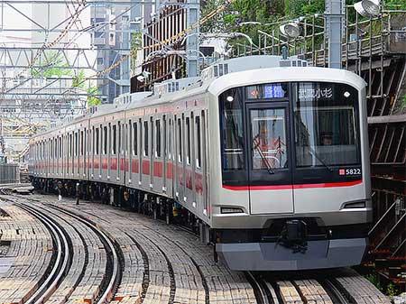 東急5000系5122編成が東横線で営業運転を開始