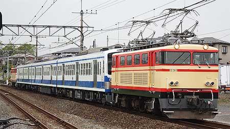 伊豆箱根鉄道向け101系が回送される