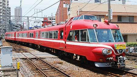 名鉄7011編成使用の団体臨時列車運転