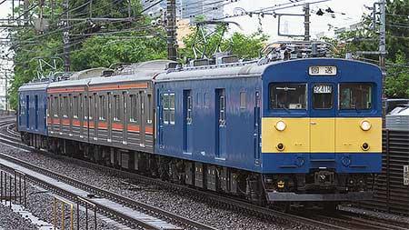 205系モハユニットが京葉車両センターへ