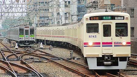 京王6000系都営新宿線乗入れ対応車が運用離脱
