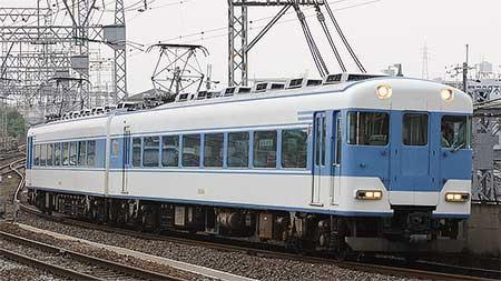 近鉄18400系「あおぞらⅡ」,2連で白塚へ