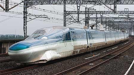 E954形「FASTECH 360 S」が新幹線総合車両センターへ