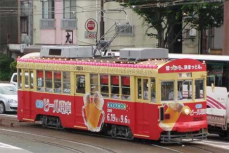 豊橋鉄道で「納涼ビール電車」運転