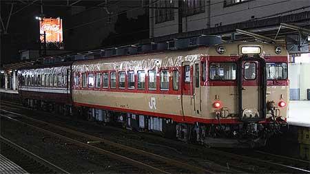高山本線のキハ58系,混色編成で運転