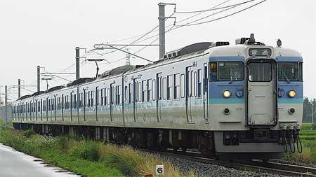 115系C編成が大糸線の定期列車を代走