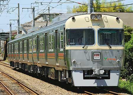伊予鉄道 新形車両3000系の訓練運転を開始