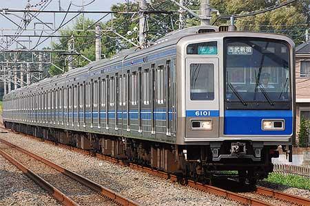 西武6000系6001編成がスカートなしで運用に|鉄道ニュース|2009年8月 ...