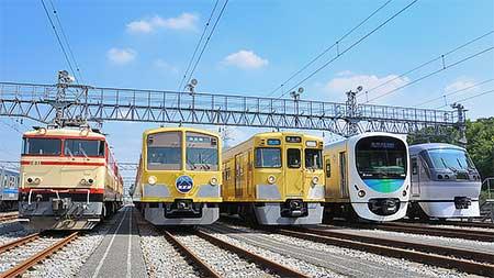 西武鉄道『南入曽車両基地電車夏まつり』開催