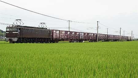 EF65 57号機,四国運用3079列車〜3078列車をけん引