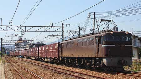 EF65 57,5092列車をけん引