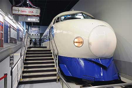 鉄道博物館 0系新幹線(21-2)の一般公開を開始