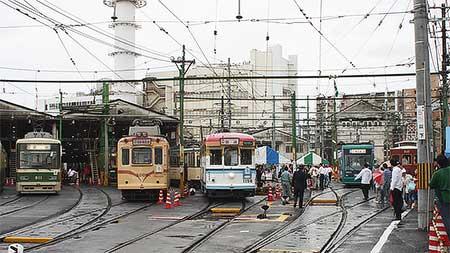広島電鉄『第14回路面電車まつり』開催