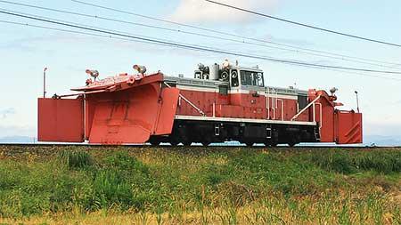 DD15 10が北陸本線で試運転