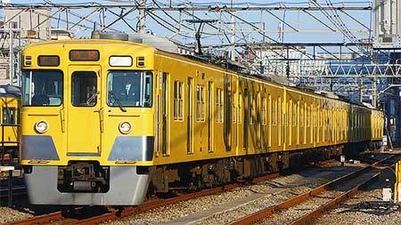 西武新宿線用2000系が西武池袋線所沢以東に入線