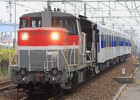 松浦鉄道MR600形が甲種輸送される