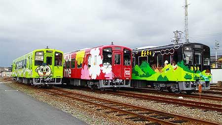 平成筑豊鉄道で新車両の見学会